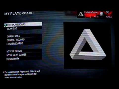 Black Ops Emblem The Impossible Triangle (Tutorial)