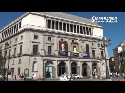 Stadtbesichtigung Madrid / STAFA REISEN Video