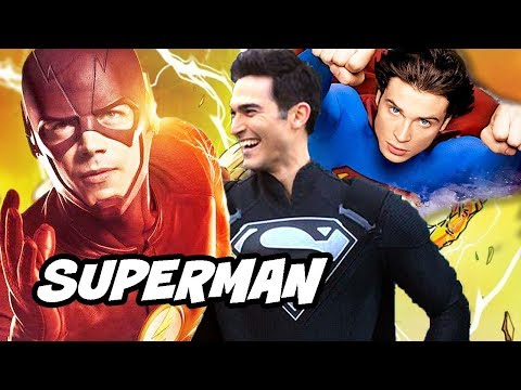 The Flash Season 5 Superman Smallville Scene Explained