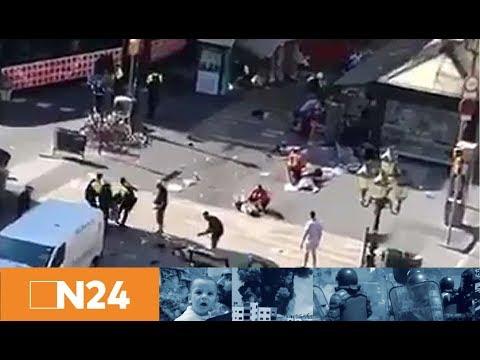 Terror in Barcelona: Blutiger Anschlag auf der Flaniermeile Las Ramblas