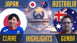 With Sweden having secured their spot at BlizzCon 2017 with their 3-0 win over Spain, Japan and Australia close out the day...