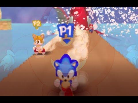 Classic Sonic 3d Adventure multiplayer fun