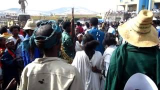 Timket Celebration Piassa Gondar Ethiopia 2012