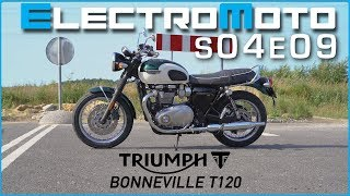 8. Triumph Bonneville T120 first ride and review