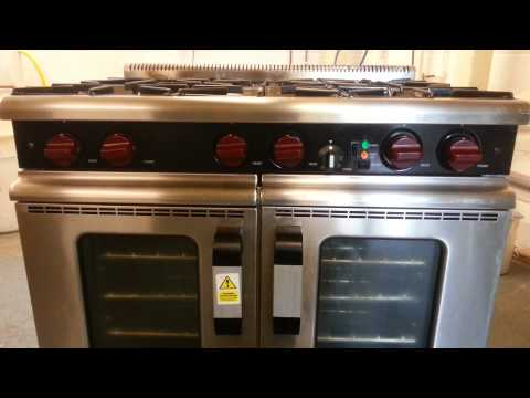 Moorwood Vulcan Dual Fuel Commercial Range Cooker, Nat Gas & Electric (May14009)