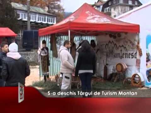 S-a deschis Târgul de Turism Montan