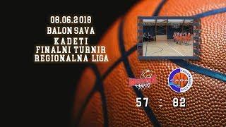 kk mondo basket kk sava2 57 83 (kadeti 2, 22 06 2018 ) košarkaški klub sava