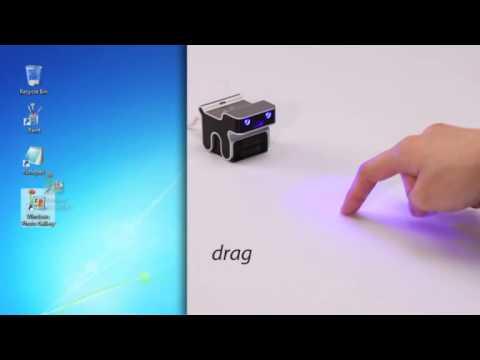 evoMouse optische Multi Touch Laser Maus für Notebooks und PCs