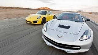 Track Tested: 2014 Chevy Corvette Stingray Vs 2013 Porsche 911 -- Edmunds.com