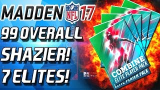 """99 Overall Shazier! Madden Mobile Combine Pack Opening! Also opened 7 combine Elite Packs! Enjoy! https://www.maddencoinwizard.com/ - BURGER 12% OffPODCAST - https://www.youtube.com/channel/UCECf_OLQtQoZvEfDQjoATJwINSTAGRAM - https://www.instagram.com/cullenburgerytTWITTER -  http://www.twitter.com/cullenburgar***Check Out CyberPowerPC!: http://goo.gl/NU5kBJ Use coupon code """"Burger"""" to take 5% off your order over $1299***Business Contact: CULLENBURGERYT@Gmail.comTWITCH - http://www.twitch.tv/cullenburgerMadden MobileMadden 17 Ultimate Team! I play a lot of Madden 17 Ultimate Team! I post Madden 17 Ultimate Team Pack Openings! I post Madden 17 Ultimate Team Season. If I have any I also post Madden 17 Ultimate Team Coin Making Tips and Madden 17 Ultimate Team team building tips. Enjoy!"""