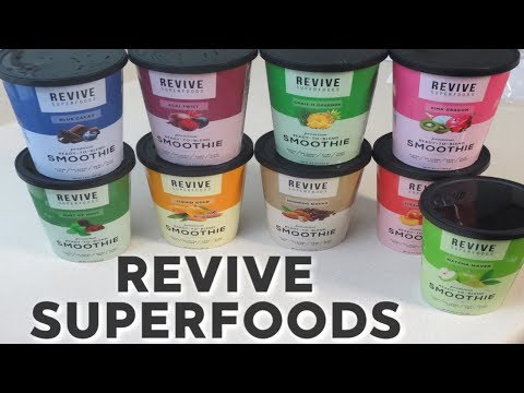 Revive Superfoods - Smoothie Subscription Unboxing & Review!