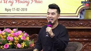 TRỰC TIẾP | Vì sao tôi theo đao Phật khách mời - Ca sĩ Ưng Hoàng Phúc