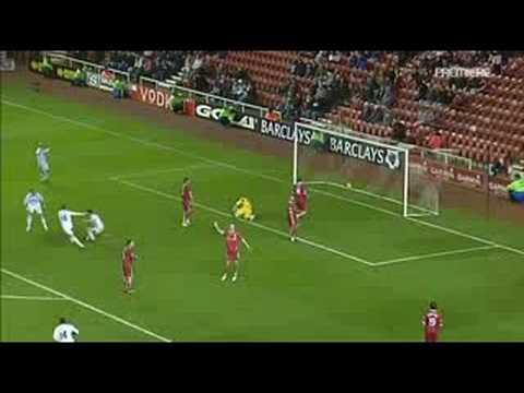 Primer gol de Parker en el West Ham
