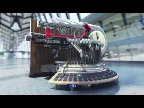 TF1 Pub Typewriter