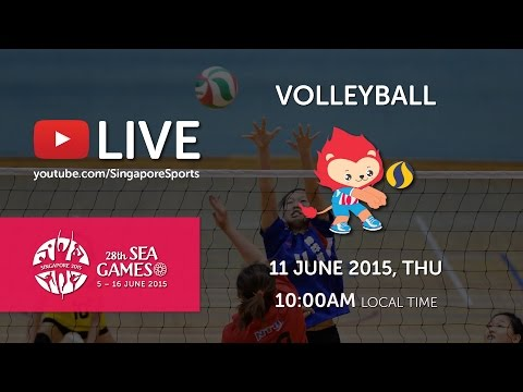 Women's Malaysia vs Philippines I | 28th SEA Games Singapore 2015