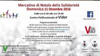Mercatino di Natale della Solidarietà - Vidor
