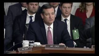 Ted Cruz Pulls Democrats' Pants Down on Opposition to Judge Gorsuch