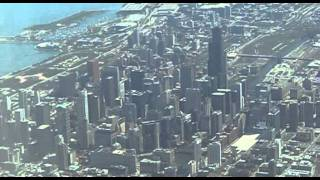 Chicago (IL) United States  City pictures : Flying over Chicago, Chicago, Illinois, United States, North America