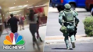 El Paso, Texas, Shooting: Witness Videos Capture Terrifying Scene | NBC News