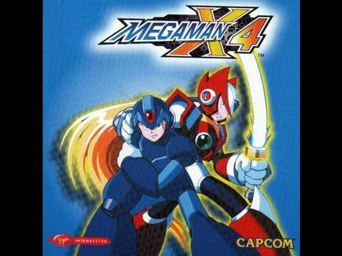 Mega Man X4 Playstation