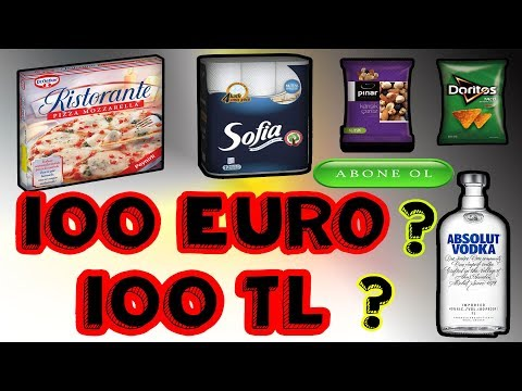 100Euro ile 100Türk lirası  arasındaki ?????