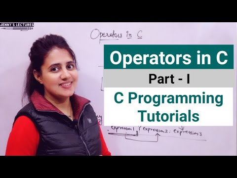 C_13 Operators in C - Part 1 | Unary , Binary and Ternary Operators in C | C programming Tutorials