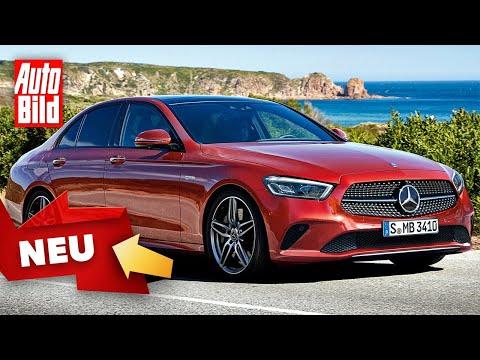 Mercedes E-Klasse (2020): Neuvorstellung - Facelift - ...