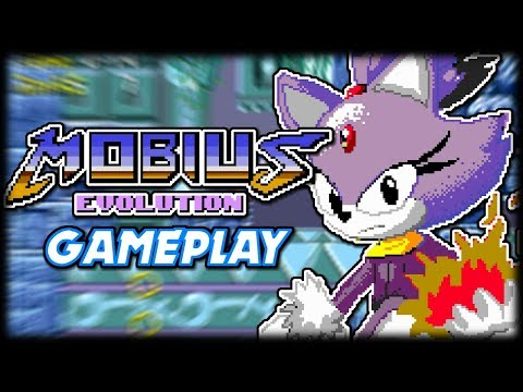 Sonic & Blaze Rescue The Animals | Mobius Evolution (Sonic ROM Hack) Gameplay
