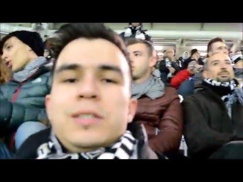 Watching Serie A Match Juventus Against AC Milan At Juventus Arena, Turin, Italy