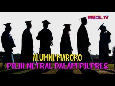 Alumni Maroko Pilih Netral Dalam Pilpres