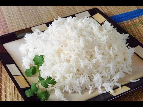 Perfect BASMATI RICE - EVERY TIME!  / Recipe