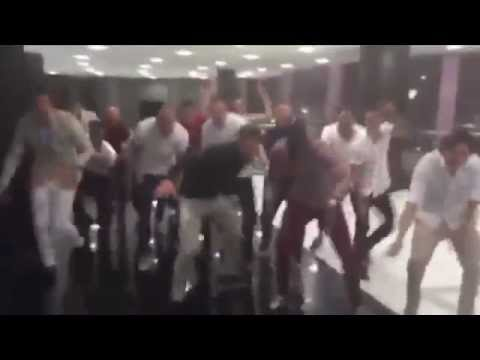 LIVERPOOL PLAYERS SING & DANCE IN DUBAI DISGUSTING BEHAVIOUR
