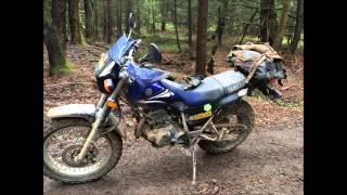 9. tour de forest 2015, tw200 vs xt250 vs golf cart