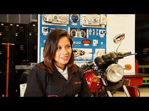 Testimonio Joselyn Amperez-Curso Mecánica de Motocicletas
