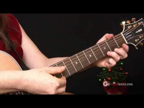 Christmas Songs for Guitar Easy Guitar Lesson – Guitar Tricks 36