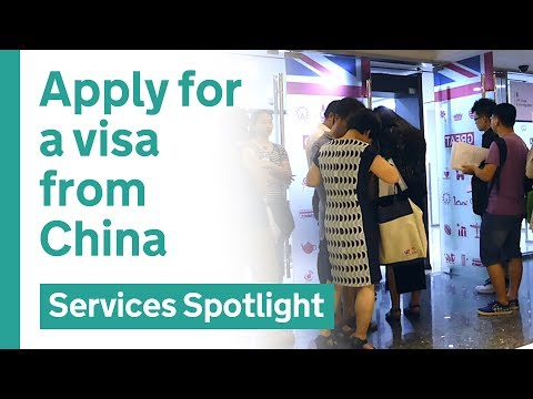 Apply for a UK tourist visa from China – user research case study