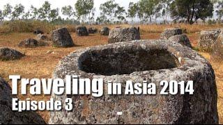 Suab Hmong TRAVEL in ASIA 2014 Episode 3 - Plain of Jars in Phonsavanh, Laos
