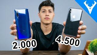 XIAOMI Mi9 vs IPHONE X Comparativo  Qual melhor?