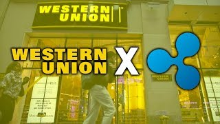 PROOF OF WESTERN UNION PARTNERING WITH RIPPLE (XRP) IN 2O18! - BUY RIPPE!