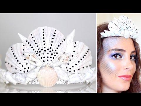 Tuto DIY Couronne de Coquillages ⎟DIY Costume Sirène