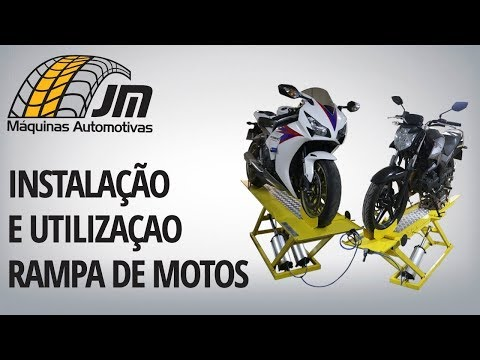 Rampa de Motos - Montagem e Utilização