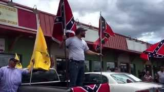 Burlington (NC) United States  city pictures gallery : Sons of confederate flag rally at Dixie outfitters Burlington nc 7/11/15
