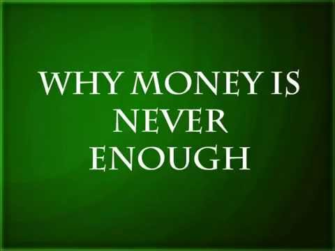 Ed Lapiz - Why Money is Never Enough
