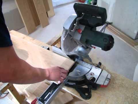 Videonávod na položení plovoucí podlahy. Položení první řady 2. díl