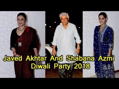 Saiyami Kher | Divya Dutta | Shabana Azmi Diwali Party