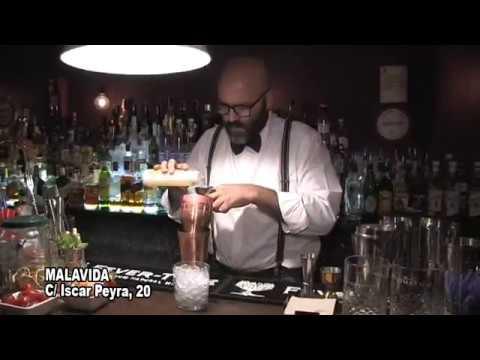 MALAVIDA COCKTAIL BAR VIDEO COCTEL