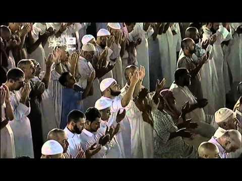 صلاة الوتر مع الدعاء للشيخ عبدالرحمن السديس (ليلة القدر)