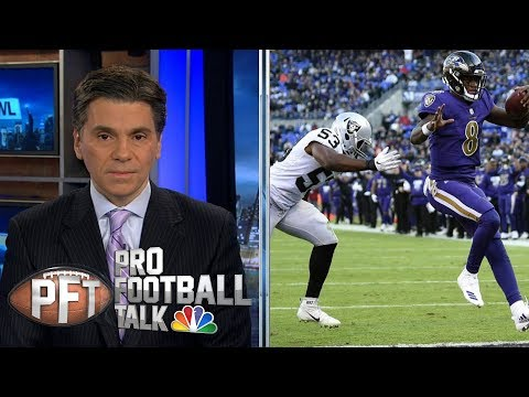 Video: Baltimore Ravens could make serious noise in playoffs | Pro Football Talk | NBC Sports