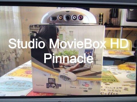 Pinnacle Studio MovieBox HD Распаковка и краткий обзор