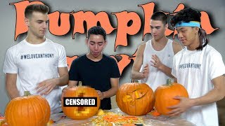 Video Pumpkin Carving Challenge For Halloween MP3, 3GP, MP4, WEBM, AVI, FLV Juni 2019